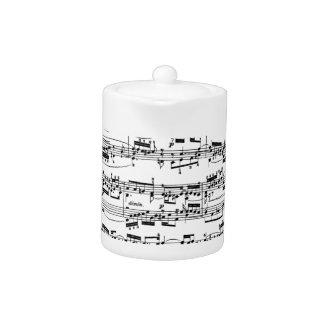 Sheet Music by Bach Teapot