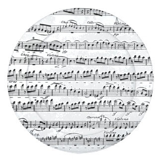 Sheet Music for the Overture to 'Egmont' Button Covers