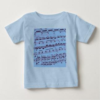 Sheet Music/Glee Club Baby T-Shirt