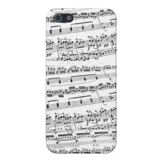 Sheet Music/Glee Club iPhone SE/5/5s Case