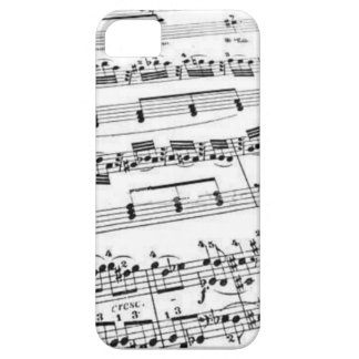 Sheet Music iPhone 5 Cases