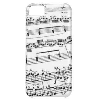 Sheet Music iPhone 5C Cover