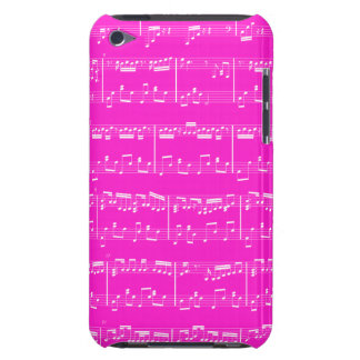 Sheet Music iPod Touch Pink iPod Touch Cover