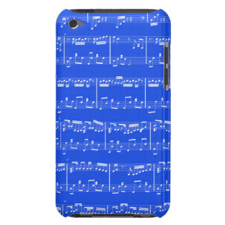 Sheet Music iPod Touch Royal Blue Case-Mate iPod Touch Case