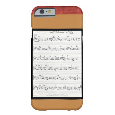 fabricatedframes Sheet music Keep Of The Promise iPhone 6 case