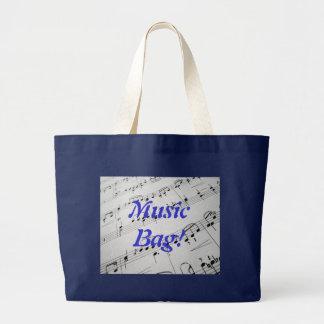 Sheet Music Large Tote Bag