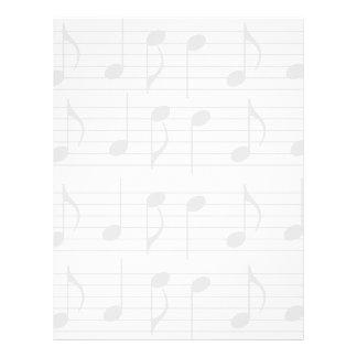Sheet Music Letterhead