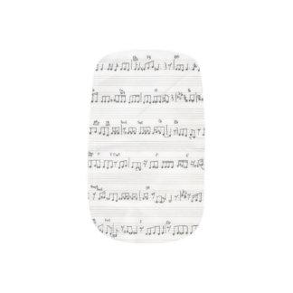 Sheet Music Minx Minx Nail Wraps