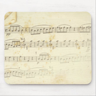 sheet music mouse pads