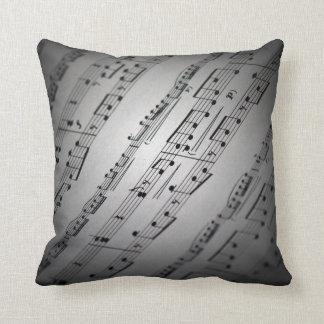 Sheet Music Pillow