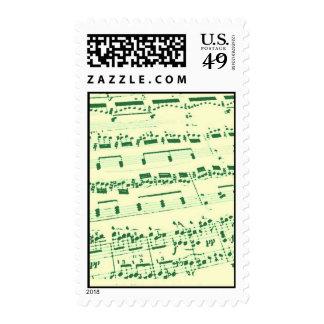 Sheet Music Postage