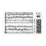 Sheet Music Postage Stamps