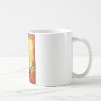 Sheet Music, Treble Cleff, and Violin Coffee Mug