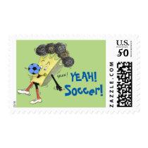 Sheet of 20  Bruno 'Soccer' Stamps. Postage