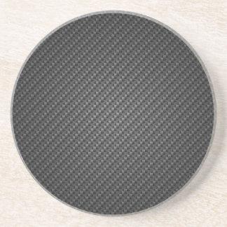 Sheet Of Carbon Fibre Texture Drink Coaster