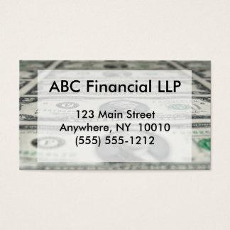 Sheet of Two Dollar Bills Business  Card