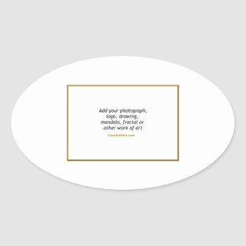 Sheets Of Stickers (oval) With Your Design by Casefashion at Zazzle
