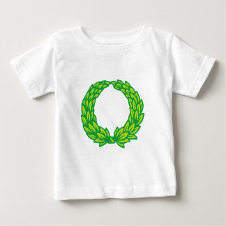 Sheets wreath of leaves wreath baby T-Shirt