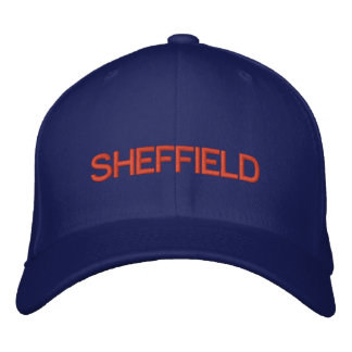 Sheffield Cap Embroidered Hats