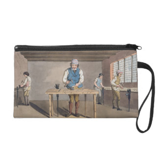 Sheffield Cutler, from `Costume of Yorkshire' engr Wristlet Purse