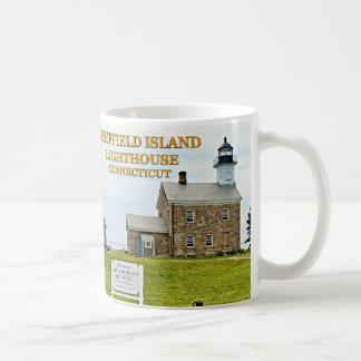 Sheffield Island Lighthouse, Connecticut Coffee Mug
