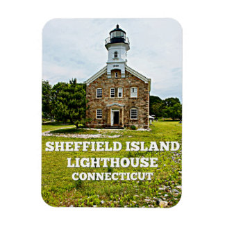 Sheffield Island Lighthouse, Connecticut Magnet