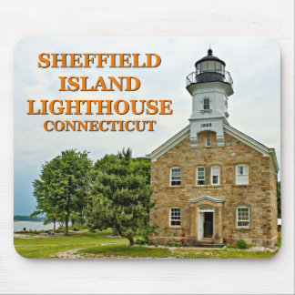 Sheffield Island Lighthouse, Connecticut Mouse Pad