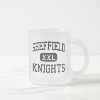 Sheffield - Knights - High - Memphis Tennessee Frosted Glass Coffee Mug