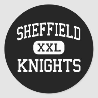 Sheffield - Knights - High - Memphis Tennessee Classic Round Sticker