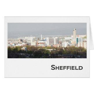 Sheffield Landscape picture Card