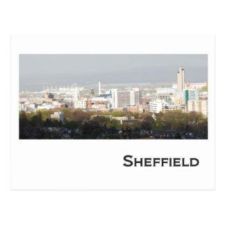 Sheffield Landscape picture Postcard