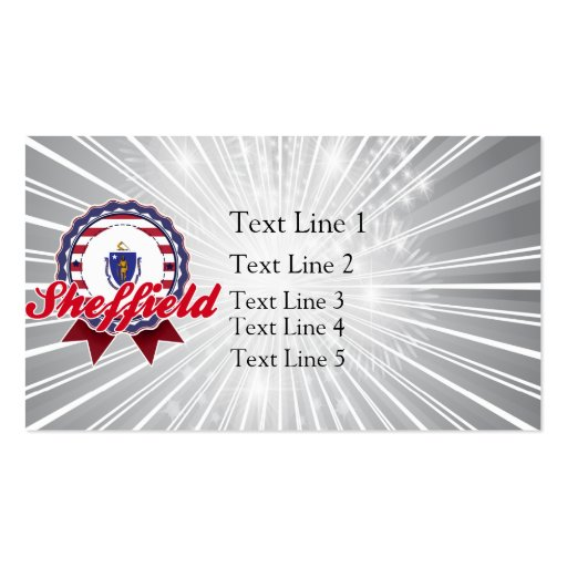 Sheffield, MA Double-Sided Standard Business Cards (Pack Of 100)
