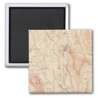 Sheffield, Massachusetts 2 Inch Square Magnet