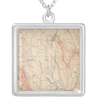 Sheffield, Massachusetts Silver Plated Necklace