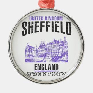 Sheffield Metal Ornament