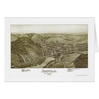 Sheffield, PA Panoramic Map - 1895 Card