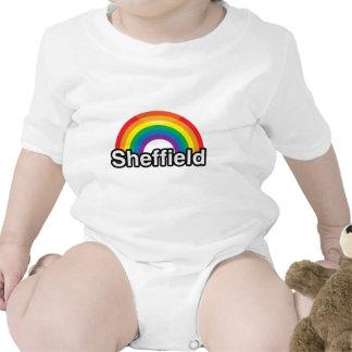 SHEFFIELD PRIDE RAINBOW -.png Baby Bodysuit