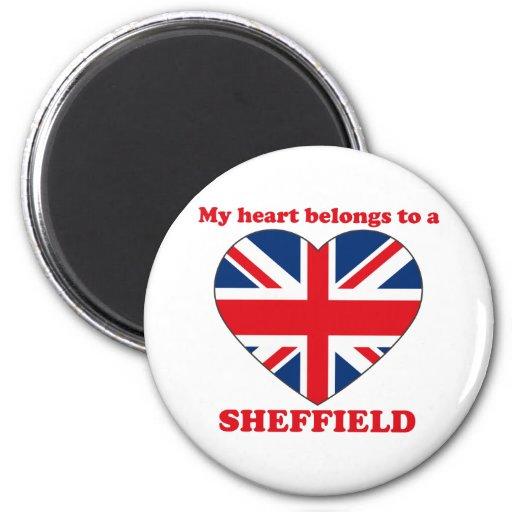 Sheffield Refrigerator Magnet