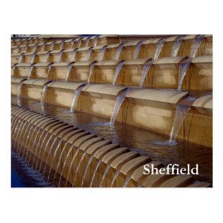 Sheffield Sheaf Square Postcard