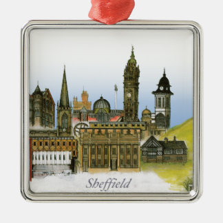 sheffield - south yorkshire, tony fernandes metal ornament