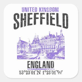 Sheffield Square Sticker