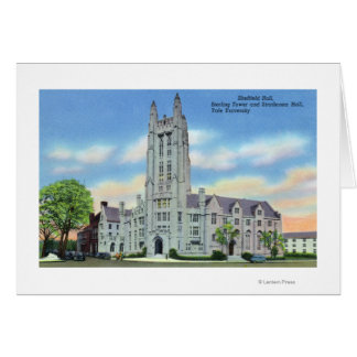 Sheffield, Strathcona Halls and Sterling Tower Card