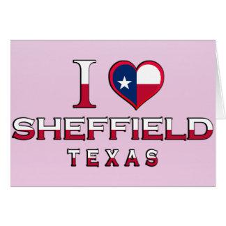 Sheffield, Texas Greeting Card