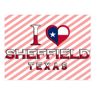 Sheffield, Texas Postcard