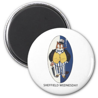 Sheffield Wednesday Football Club 2 Inch Round Magnet