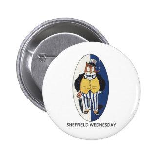 Sheffield Wednesday Football Club Button