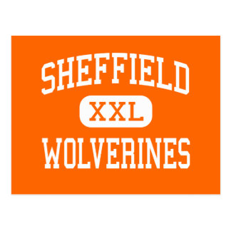 Sheffield - Wolverines - Area - Sheffield Postcard