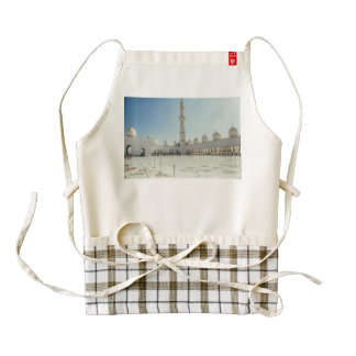 Sheikh Zayed Grand Mosque ,Abu Dhabi Zazzle HEART Apron