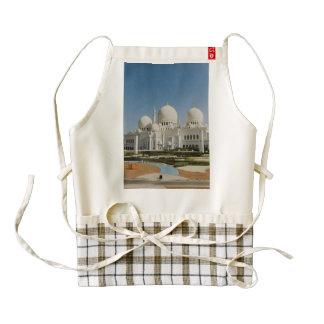 Sheikh Zayed Grand Mosque,Abu Dhabi Zazzle HEART Apron