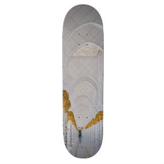 Sheikh Zayed Grand Mosque columns,Abu Dhabi Skateboard Deck